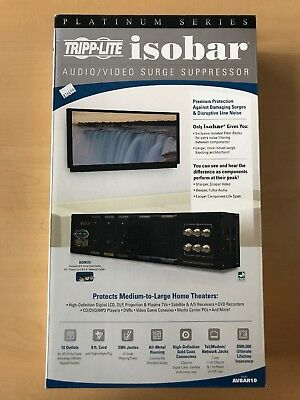 Tripp-Lite Isobar AVBAR10 audio video surge suppessor
