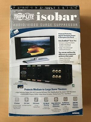 Tripp Lite Isobar AVBAR8 audio video surge protector