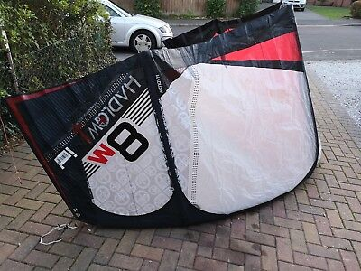 Flexifoil Hadlow Id 8m And 10m Kitesurfing Kites with bar