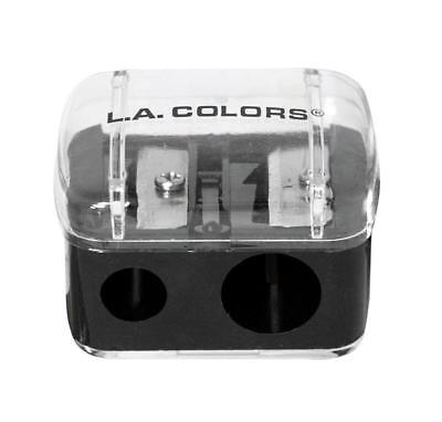 L.A. COLORS Makeup Pencil Sharpener Jumbo & Regular Dual Hole Lip Liner Eyeliner