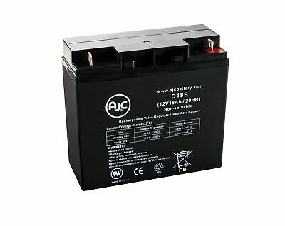 Kung Long WP18-12 12V 18Ah Wheelchair Battery - This is an AJC Brand Replacement