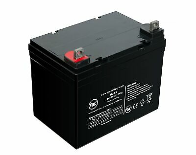 Enduring 6-DW-33 12V 35Ah Wheelchair Battery - This is an AJC Brand Replacement