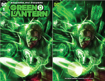 Green Lantern 1 DC Francesco Mattina Trade + Minimal Virgin Variant (11/07/2018)