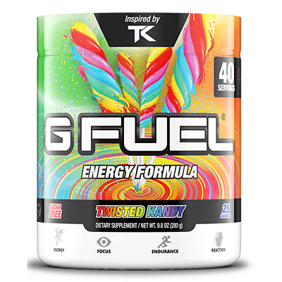 Gamma Labs G Fuel Twisted Kandy GFuel 40 Servings