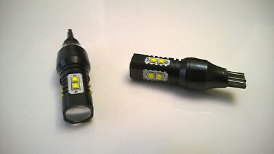 New Upgrade 2X 50W W16W T15 Cree Osram Led White Reverse Light Bulbs Canbus**