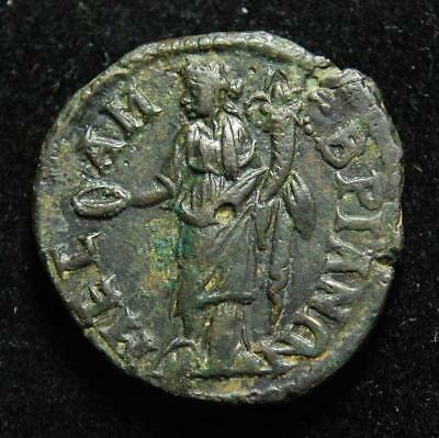 Philip II as Caesar AE26, Mesembria, Thrace, rev. Homonoia, 244-247AD