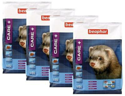 Beaphar - Care+ alimentation super premium - furet - 2 kg - Lot de 4