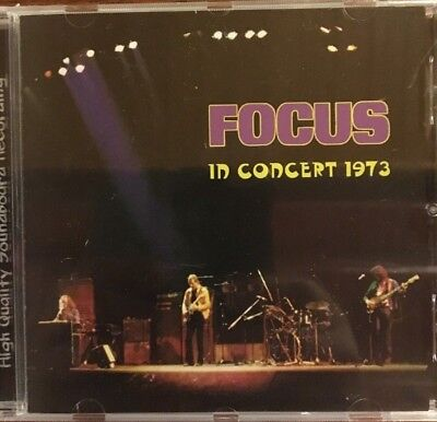"""Focus """"in Concert 1973"""" Rare Cd Live Neuf Emballe !"""