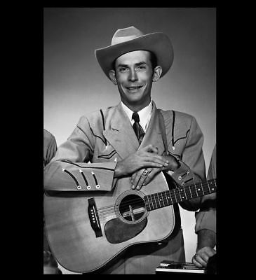 Hank Williams Sr PHOTO Classic Country Music Star Guitar Singer