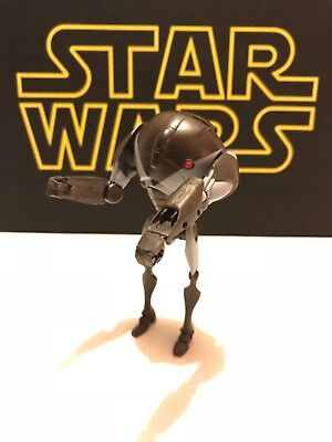 Star Wars clone wars super battledroid from clone troopers and droids pack rare.