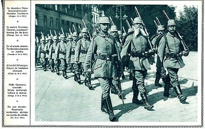 .Vintage Picture German Army March 1915