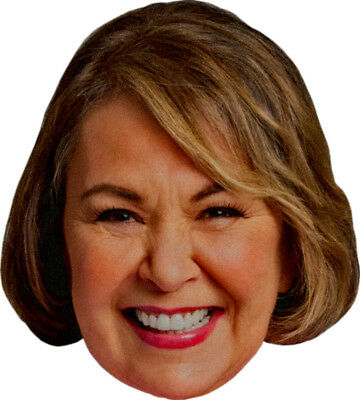ROSEANNE BARR TV Show Personality - BIG HEAD Window Cling Decal Sticker - NEW