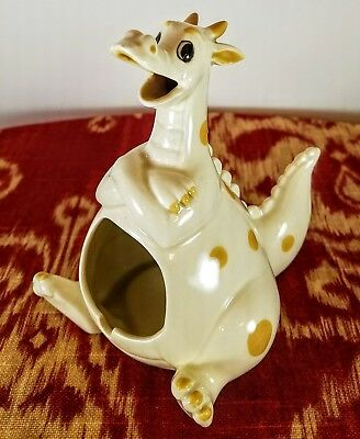 Puff the Magic Dragon - Ashtray - Candle Holder - Incense Burner - by Quon Quon