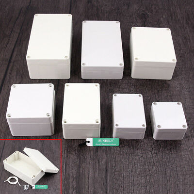 7 Size Waterproof Abs Plastic Electronics Project Box Enclosure Hobby Case New