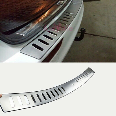 For Audi Q5 2009-2016 Rear Bumper Door Sill Chrome Car Styling Accessories