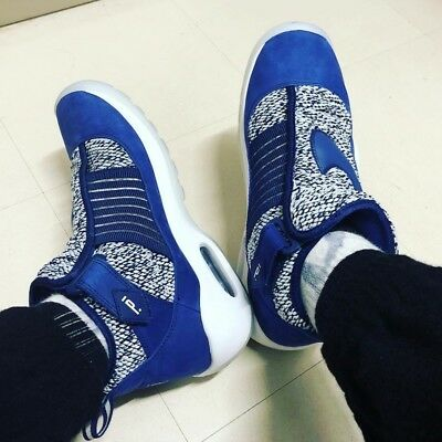 hot sale online 49664 9bbff Nike Lab Pigalle Air Max Shake Ndestrukt Blue White Basketball Trainers Men  UK 8