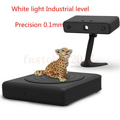 Industrial-Level 3D Scanner Precision 0.1mm 700mm White Light for Mold Scanning