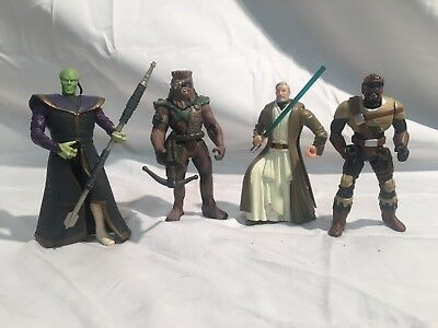 Star Wars 1996 Shadows Of The Empire Lot Including Prince Xizor, Chewbacca, More