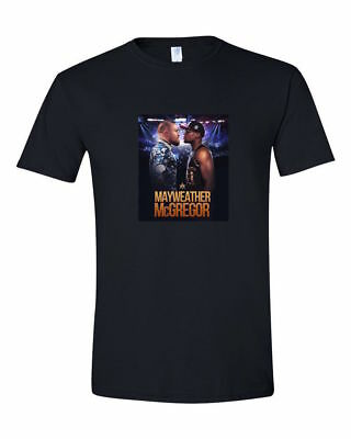 HOT RARE Las Vegas Conor Mcgregor-Vs-Floyd-Mayweather T-Shirt S-5XL