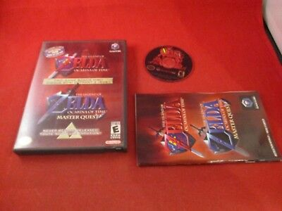 The Legend of Zelda Ocarina of Time / Master Quest Gamecube COMPLETE French/Eng