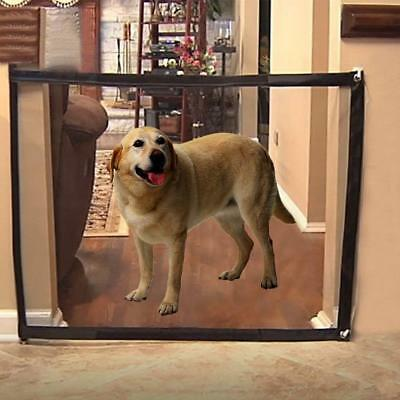 2018 Hot TV Magic-Gate Portable Folding Safety Guard for Pets Dog Cat 120*74CM
