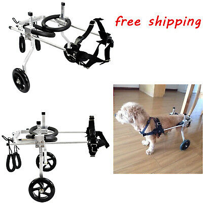 3 Types Pet/Dog Wheelchair to make Handicapped Hind Legs small DogCat run