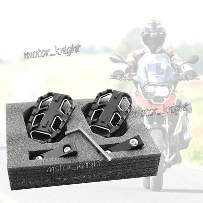 CNC Front Rider Foot Pedals Footpegs Footrest  For BMW R1200GS R nine T Urban/GS