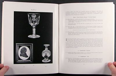 Book: English Decorated + Engraved Glass 18th & 19th Century w Historical Scenes