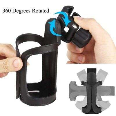 360 Degree Rotation Drink Bottle Cage Cup Holder for Bike Bicycle Baby Stroller