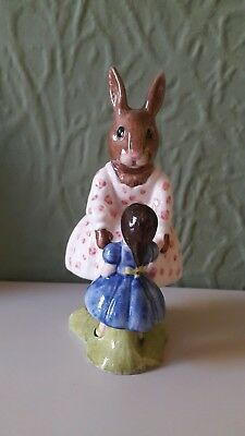 "Royal doulton figure Dollie Bunnykins ""Playtime"""