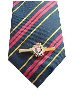 RLC Royal Logistic Corps Tie & Tie Clip Set e129