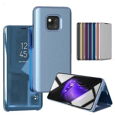 Luxe Smart Case Pr Huawei Mate 20 Lite Pro Mirror Flip View Etuis Housse Coques
