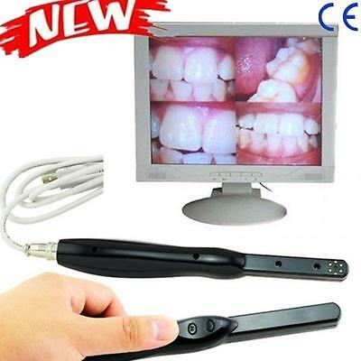 "Dental 6.0M Pixel USB 2.0 HD Intra Oral Camera Cam 6-LED 1/4"" CMOS HAD Clinic CE"