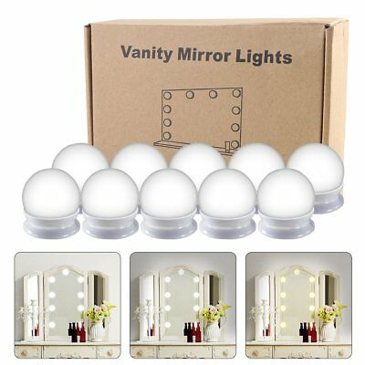 Light Up Dressing LED Mirror Make Up Lamp Bulbs Kit Vanity Mirror Light Dimmable