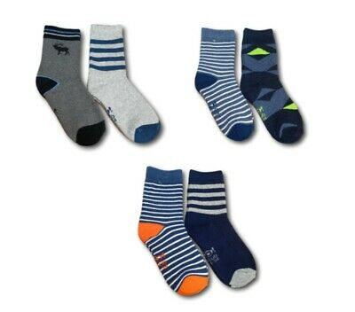 Boys Kids Childrens Thick Soft Terry Cotton Winter Warm Socks 2 Pairs
