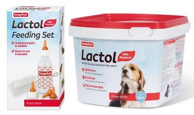 Beaphar Feeding Set or Lactol Puppy Milk, Whelping Set -You Choose
