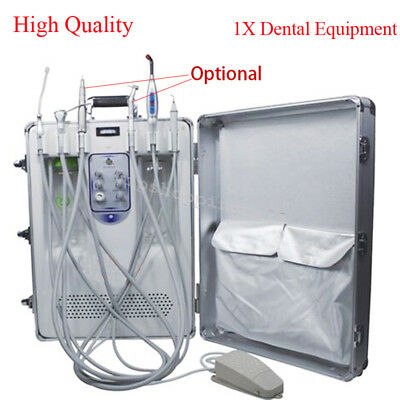 Medical All in One Dental Delivery Unit with LED Curing Light Ultrasonic Scaler