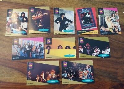 10 Proset Music cards - Led Zeppelin