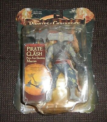 Disney Pirates Of The Carribean Pirate Clash Pick Axe Slashing Maccus 2006