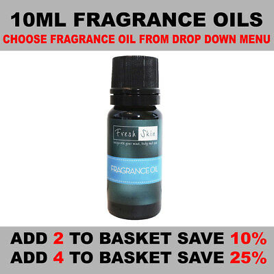 10ml Fragrance Oils - Candles, Bath Bombs, Soap Making, Wax Melts & Many More!