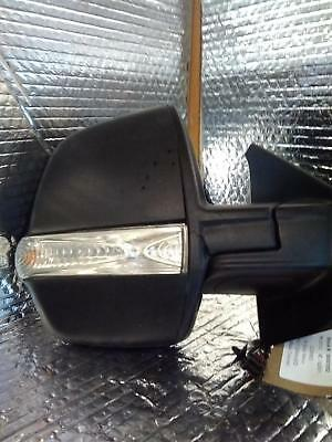 VAUXHALL COMBO R Door Mirror Mk3 (D) Manual Black Coloured Material 11-14