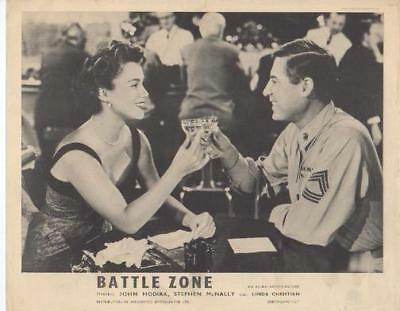 "Linda Christian, John Hadiak ""Battle Zone"" Movie Still"