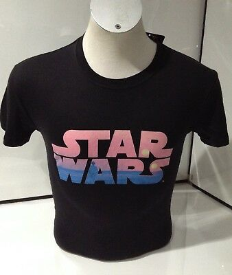 Star Wars Men's Tatooine Logo Black T-shirt