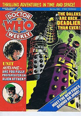 DR WHO MAGAZINE 14 May 1980