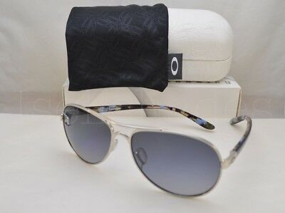 Oakley TIE BREAKER (OO4108-02 56) Polished Chrome with Gray Gradient Polar Lens