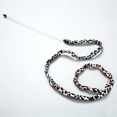 Cat Kitten Teaser Wand Toy Leopard Print Tail (CT307)