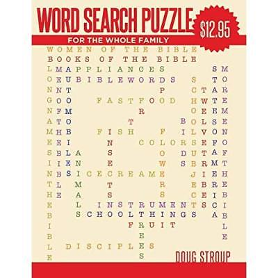 WORD SEARCH PUZZLE: For The Whole Family Stroup, Doug