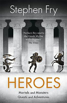 Signed Book - Heroes by Stephen Fry