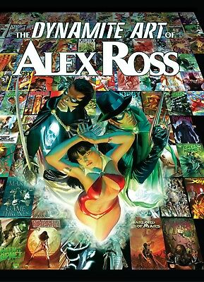 The Dynamite Art of Alex Ross 2011 (1920px) eBook on CD 324 pages CBR Format