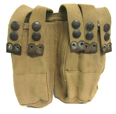 Authentic Israeli Military Surplus 5 Cell Magazine Pouch KHAKI - Volume Pricing!
